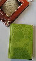 Дневник А5 частично датирован, клетка, одноцветный, металический торец, 196 лист, рус(WB5548)