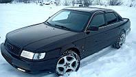 Дефлекторы окон, ветровики AUDI 100 Sd (4A,C4) 1990-1994, Audi A6 Sd (4A,C4) 1990-1997 Cobra