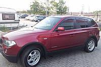 Дефлекторы окон, ветровики BMW X3 (E83) 2003- Cobra