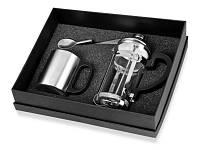 Набор: заварочный чайник на 350 мл, кружка на 200 мл, чудо-ложка, которую можно «посадить» на чашку