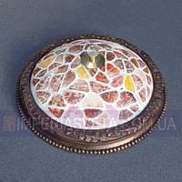 Тиффани бра, светильник настенный IMPERIA трехламповый LUX-341014