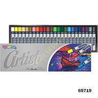 """Пастель """"Artist"""" масляная, 24 цвета, в кор.29*9см., ТМ Colorino(65719)"""