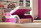 Ліжко машинка ФОРСАЖ Лілі Ф-0010, фото 2