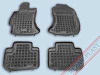 Коврики салона Subaru Forester 2013- черные Rezaw-Plast