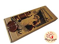 """Шоколад подарочный """"С любовью"""" молочный с изюмом и арахисом 150 гр"""