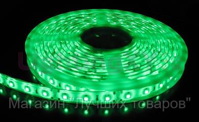Лента зеленая светодиодная 300 SMD5050 Green - 5 метров в Силиконе!