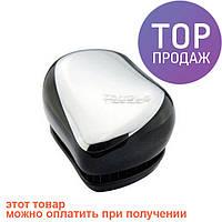 Расческа Tangle Teezer Compact Styler Silver/прибор для ухода за волосами