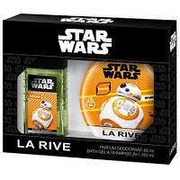 Детский подарочный набор Star wars droid (парфюмированный дезодорант/гель для душа)
