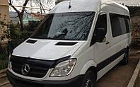 Дефлектор капота, мухобойка Mercedes-Benz Sprinter 2006 - 2013 VIP