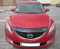 Дефлектор капота, мухобойка Mazda 6 с 2008 г.в. VIP