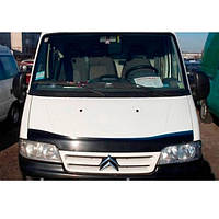 Дефлектор капота, мухобойка Citroen Jumper с 2003-2006 г.в. VIP