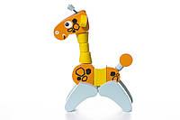 """Жираф деревянный """"Акробат"""", в кор. 22*16*8см, Украина, ТМ CUBIKA (Левеня)(12541)"""