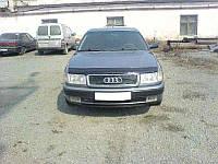 Дефлектор капота, мухобойка Audi 100 ( 45кузов С4) с 1990-1994 г.в. VIP