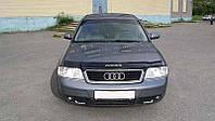 Дефлектор капота, мухобойка Audi A6 (кузов 4В,С5) с 1997-2004 г.в. VIP