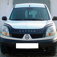 Дефлектор капота, мухобойка Renault Kangoo с 2003 г.в.после ресталинга VIP