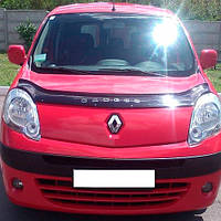 Дефлектор капота, мухобойка Renault Kangoo c 2007 г.в. VIP