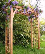Садовая арка или пергола