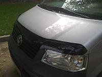 Дефлектор капота, мухобойка Volkswagen T-5 с 2005 г.в. VIP