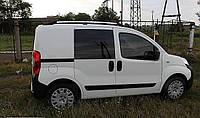 Рейлинги Fiat Fiorino, Qubo, Peugeot Bipper, Citroen Nemo 08- Хром ABS CAN