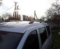 Рейлинги Hyundai Starex, H1, H200 1997-2007 длинный Серый ABS Premium (Крепление на клей)