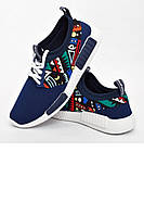 Стильные яркие кроссовки для лета