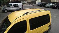 Рейлинги Renault Kangoo 1997-2008 Хром ABS Premium