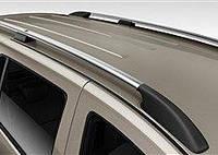 Рейлинги Renault Kangoo 2008-, Mercedes Citan 2013- Хром ABS Premium