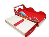 Ліжко машинка ДРАЙВ Тачки Д-0001, фото 5