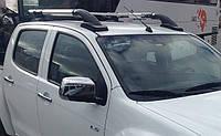Рейлинги Toyota HILUX 2006- SHARK для пикапов с перемычкой Erkul