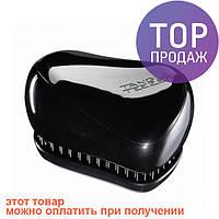 Расческа Tangle Teezer Compact Styler Black/прибор для ухода за волосами