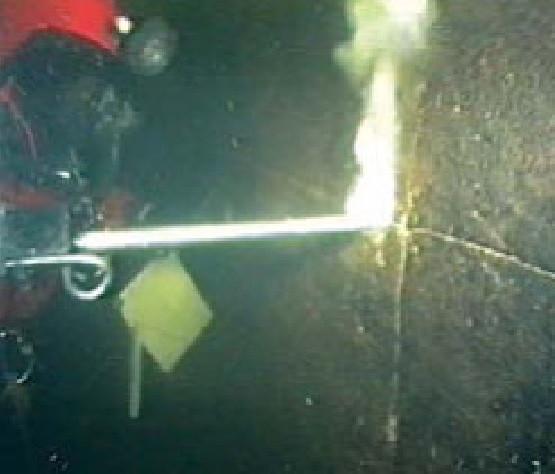 Герметизация швов и трещин под водой