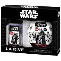 Детский подарочный набор La Rive Star wars first order (парфюмированный дезодорант/гель для душа)