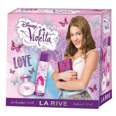 Детский подарочный набор LA RIVE Violetta love (туалетная вода 50мл/дезодорант 150мл) - seda-market.com.ua в Киеве
