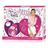 Детский подарочный набор LA RIVE Violetta passion (туалетная вода 20мл/гель для душа 250мл)