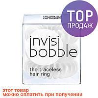 Резинки для волос Invisibobble 3шт белая/аксессуары для волос