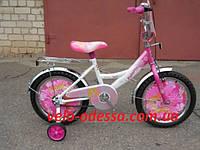 Детский двухколесный велосипед Принцесса 16 дюймов Азимут