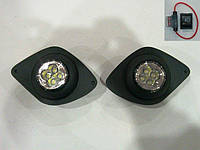 Дополнительные светодиодные фары Fiat Ducato 2006- LED G-plast