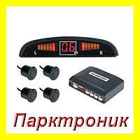 Парктроник 4 сенсора LED дисплей LD 3800 Черный