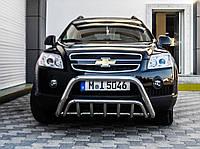 Кенгурятник Chevrolet Captiva 2006-2010 усиленный (WT002 d60 x 2мм)