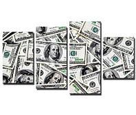 Картина для дизайна помещения Доллар 3
