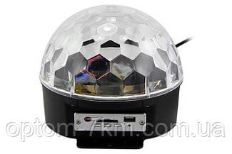 Светодиодный Диско Шар MP3 с Флешкой 3154 VJ