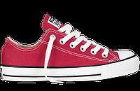 Красные низкие кеды Converse (оригинал)