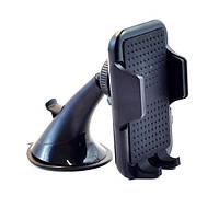 Держатель автомобильный для смартфона или навигатора Holder ZYZ-0137 до 6.2 ЧЕРНЫЙ SKU0000750, фото 1