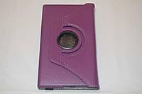 Поворотный 360° чехол-книжка для Asus MeMO Pad 7 ME572CL ME572C ME572 (фиолетовый цвет)