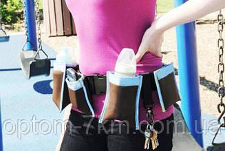 Сумка Пояс для Мам Waist Diaper Bag