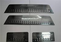 Накладки на пороги Volkswagen T5 2003-, 2010- (нерж.) 4 шт.