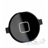 Кнопка Apple iPhone 4 возврата в главного меню (кнопка Home) Black