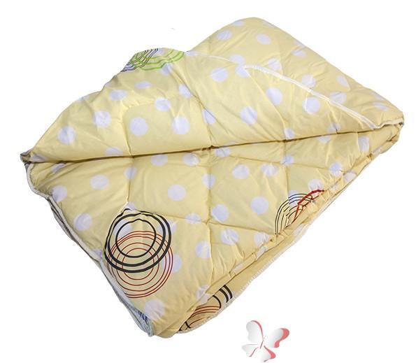 Одеяло ТЕП стеганое холофайбер Зима 150*210 Круги