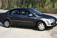 Молдинг дверной Ford Focus 2005-2008 (4 шт. нерж.) Omsa