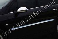 Молдинг дверной Peugeot 407 SD,SW (2004-2010) (нерж.) 4 шт.